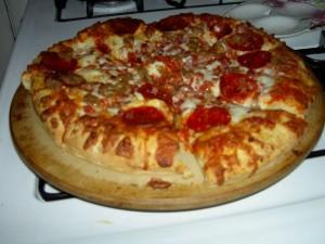 Pizza amerikanisch
